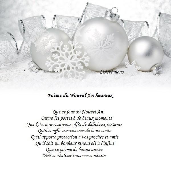 Poeme Du Nouvelan Heureux